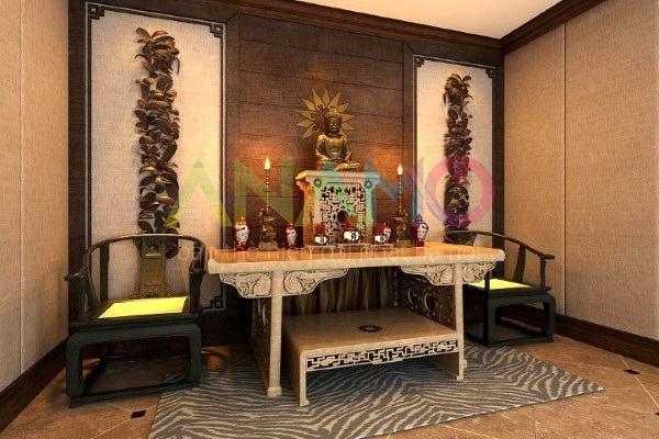 Khung ảnh bàn thờ đẹp đặt ở đâu thì đúng trên bàn thờ gia tiên
