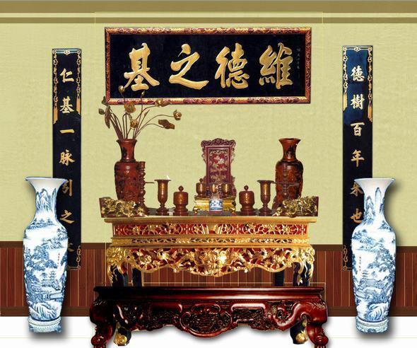 mẫu thiết kế bàn thờ đẹp