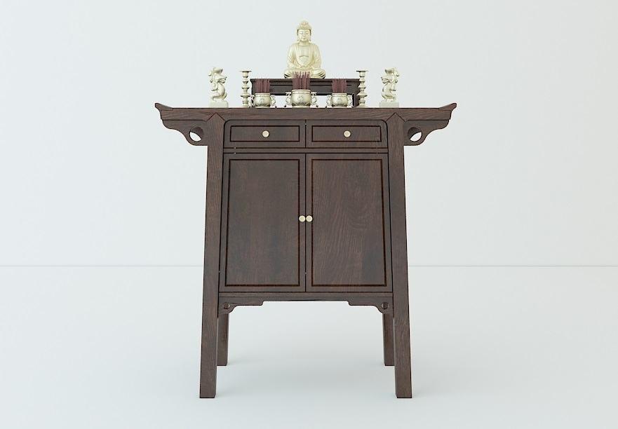 Thiết kế mẫu bàn thờ phật đẹp