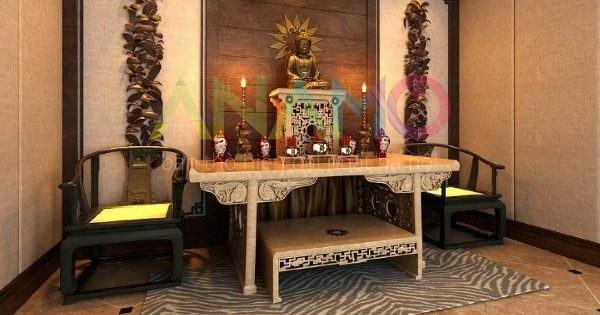 Mua bàn thò đẹp dựa vào màu sắc phong thủy