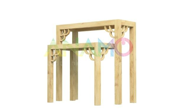 Bàn thờ gỗ