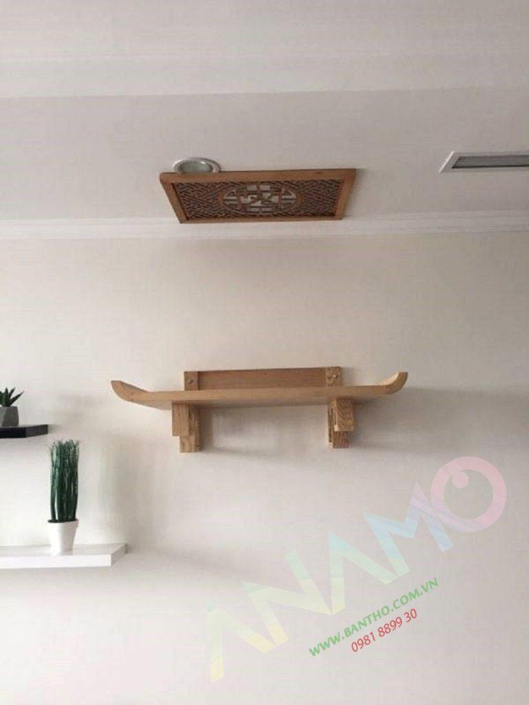 Lựa chọn loại gỗ bàn thờ chung cư hiện đại không mọt, có mùi thơm