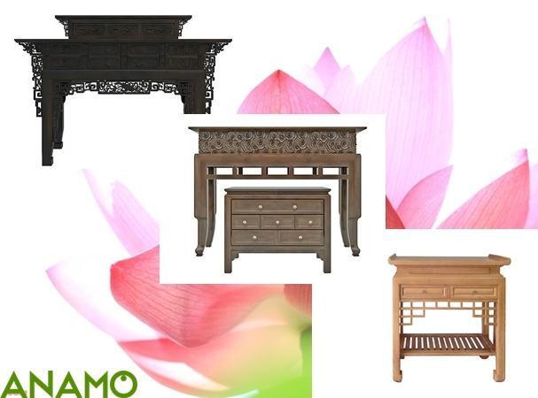 Ưu điểm mẫu bàn thờ chung cư ANAMO hiện đại.