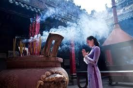 đi lễ chùa