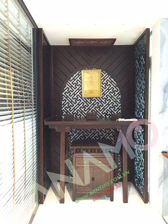 mẫu bàn thờ chung cư, các mẫu tủ thờ đẹp #2