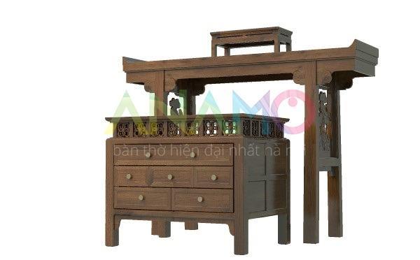 Ưu điểm nổi bật của bàn thờ gỗ mít