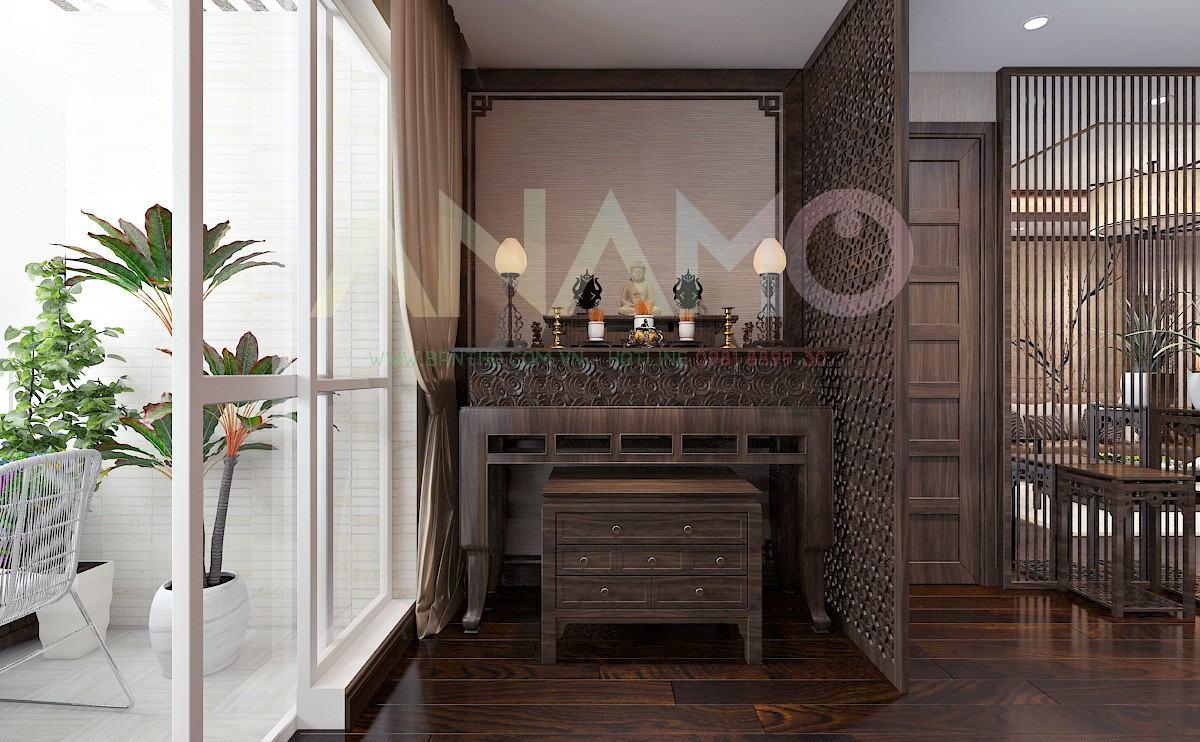 kích thước bàn thờ cho nhà chung cư chuẩn phong thủy