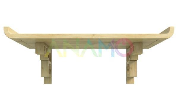 Các mẫu bàn thờ gia tiên cho nhà chung cư ANAMO bằng gỗ mít.