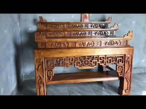 Mẫu bàn thờ tam cấp đẹp